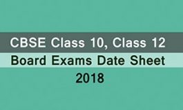CBSE is about to release the datesheet of class 10th & 12th